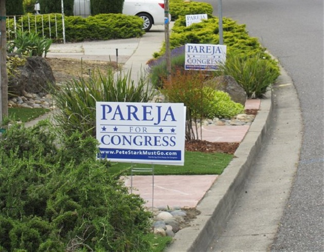 Chris Pareja for Congress Yard Signs