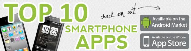 Top 10 Favorite Phone Apps
