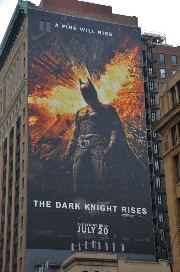 The Dark Knight Rises by Dan Cohen and crew at Art FX Murals