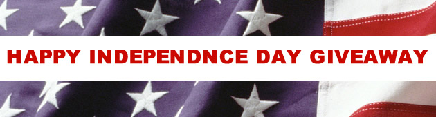 Happy Independence Day Giveaway!