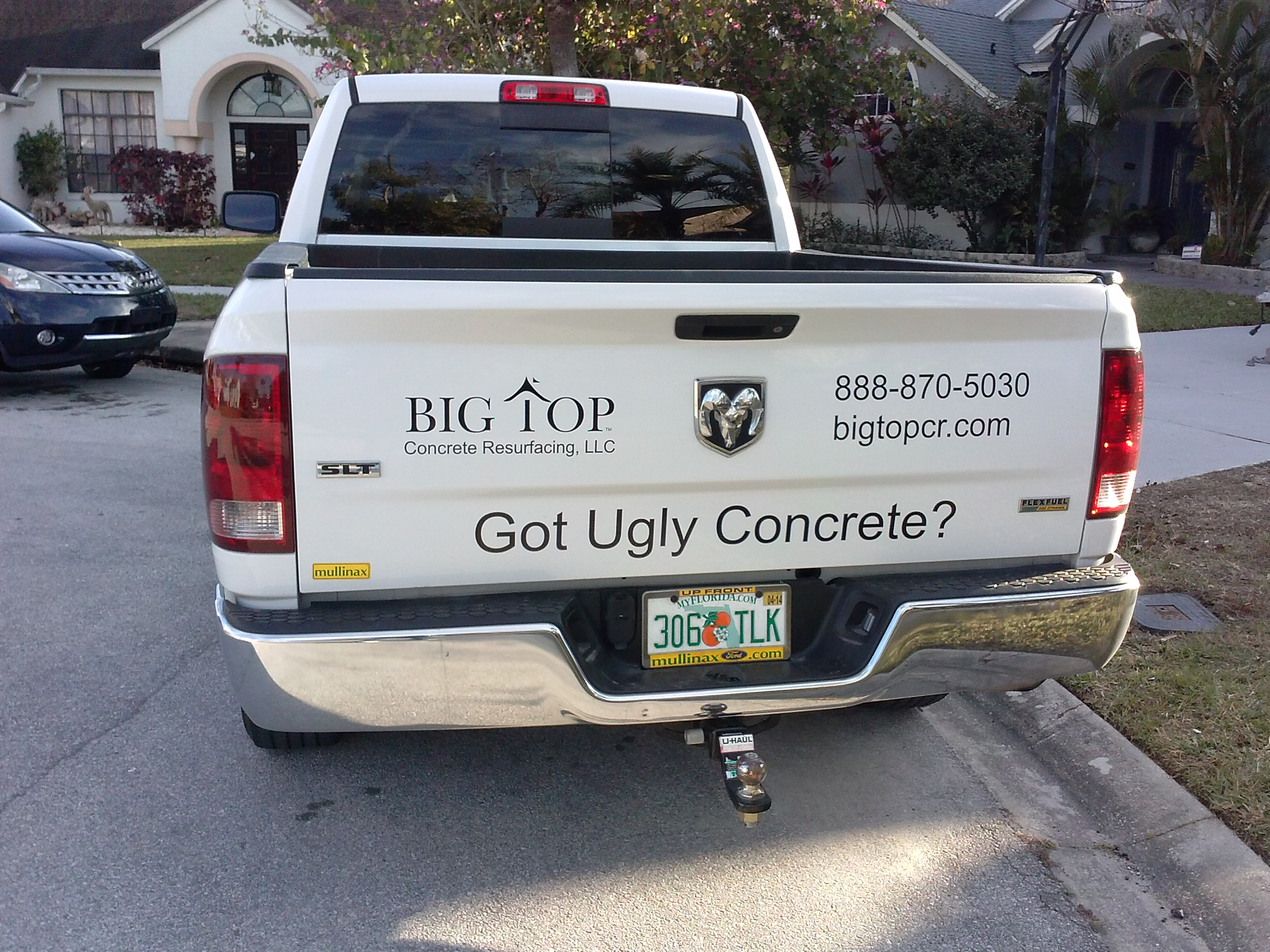Featured Customer: Big Top Concrete Resurfacing