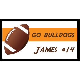 Go Bulldogs James #14