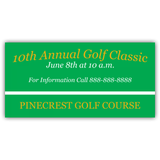 10th Annual Golf Classic Pinecrest Golf Course