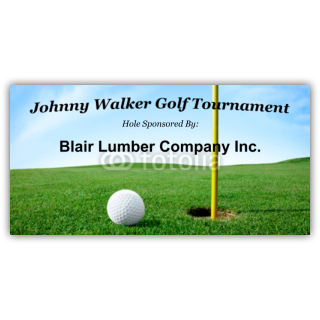 Johnny Walker Gold Tournament Hole Sponsor
