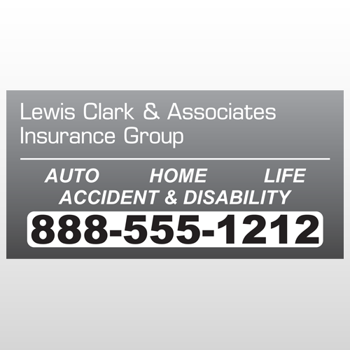 Insurance 276 Window Lettering
