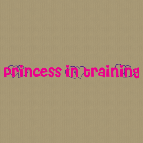 Princess 245 Wall Lettering