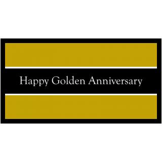 Happy Golden Anniversary