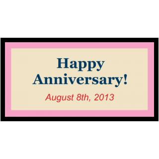 Happy Anniversary! August 8th, 2013