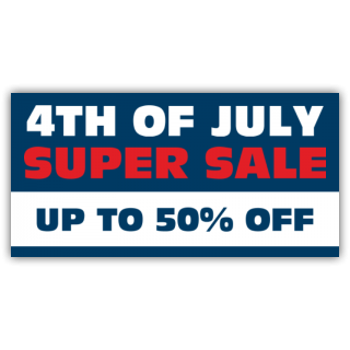 4th of July Super Sale up to 50% Off