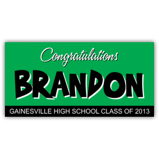 Congratulations Brandon Gainesville High School 2013