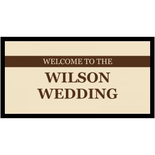 Welcome to the Wilson Wedding