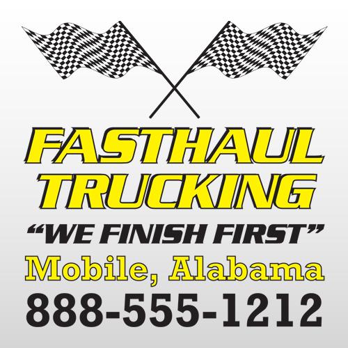 Fast Haul 313 Truck Lettering