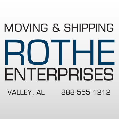 Rothe 308 Truck Lettering