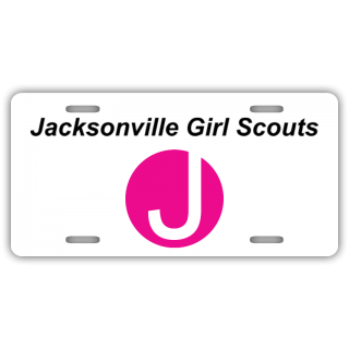 Jacksonville Girl Scouts License Plate