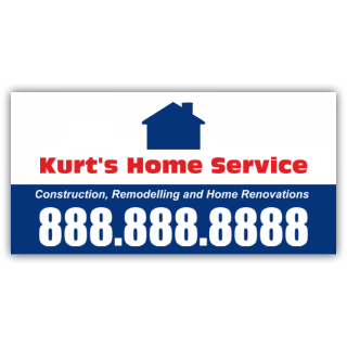 Kurt's Home Service Magnetic Sign - Magnetic Sign