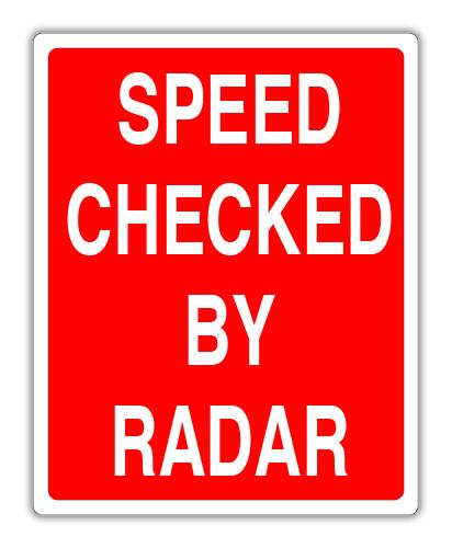 """Road Sign .040 Aluminum 24""""W x 30""""H"""