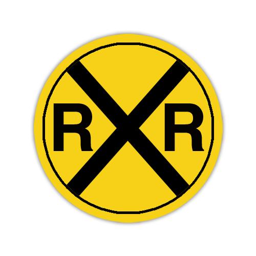 "Road Sign .080 Aluminum Circle 36""H x 36""W"