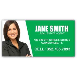 Jane Smith Real Estate Agent Magnetic Sign - Magnetic Sign