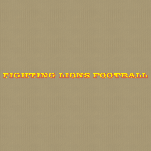 Football 226 Wall Lettering