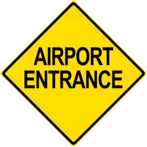 Airport Entrance