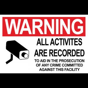 Surveillance Camera - Red
