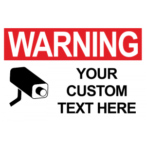 Surveillance Camera Custom - Red