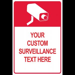 Red Custom Surveillance