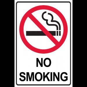 No Smoking - Border