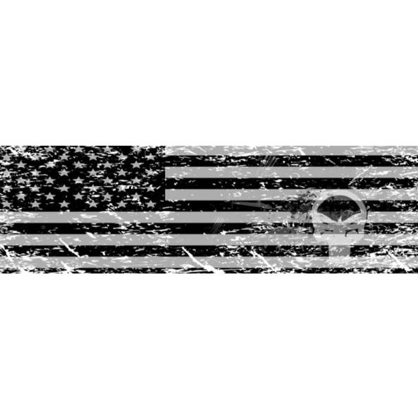 Black and White Flag