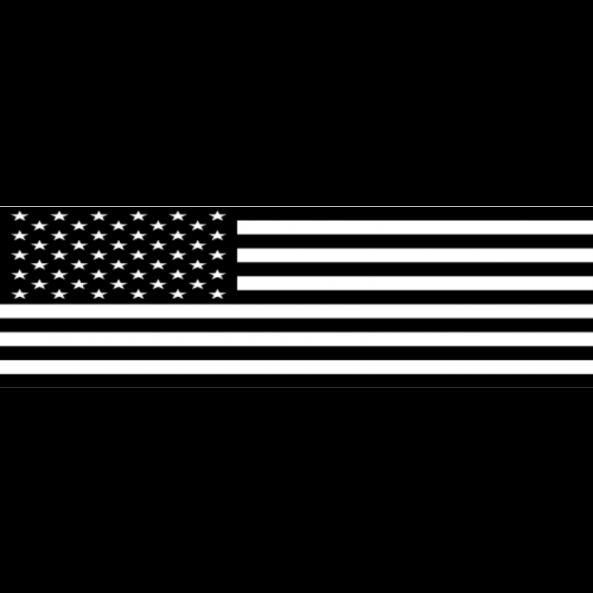 B&W Flag