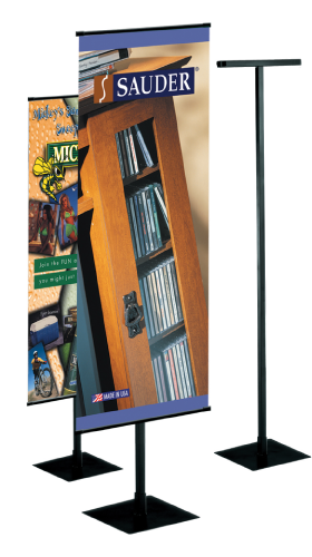 """ABS Kit- Stand & Heavy Weight Banner 24""""W x 60""""H"""