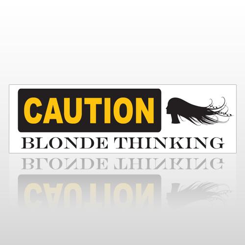 Blonde 174 Bumper Sticker