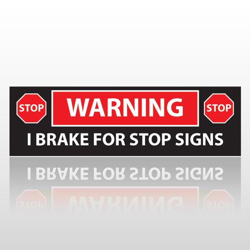 Brake 16 Bumper Sticker