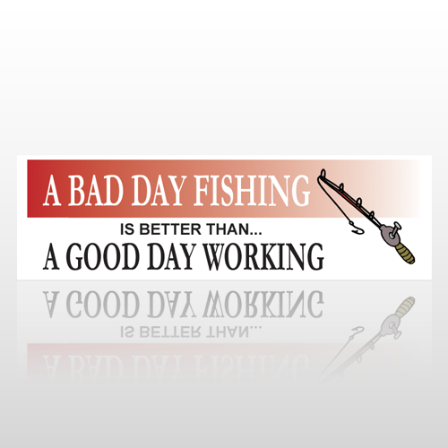Fishing Rod 81 Bumper Sticker