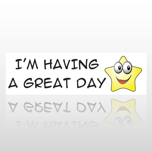 Great Day Star 30 Bumper Sticker