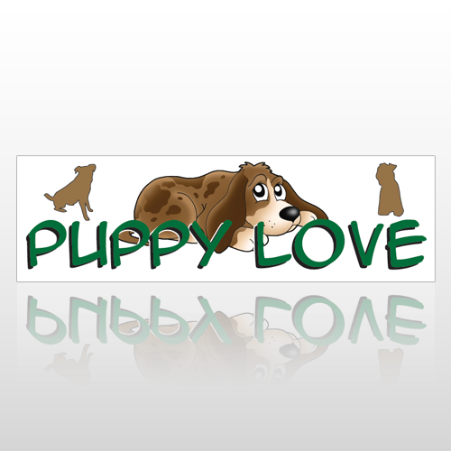Heart Dog 189 Bumper Sticker