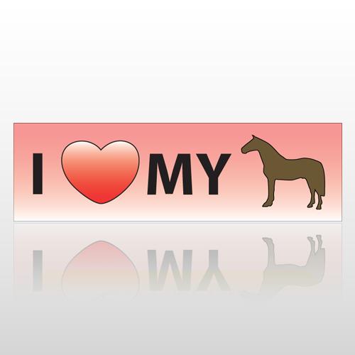 Hearthorse 41 Bumper Sticker
