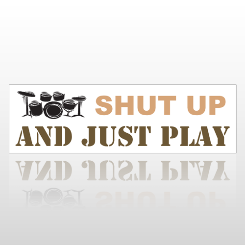 Just Play 170 Bumper Sticker