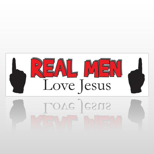 Men Love 204 Bumper Sticker