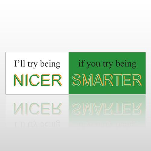 Nice Smart 113 Bumper Sticker