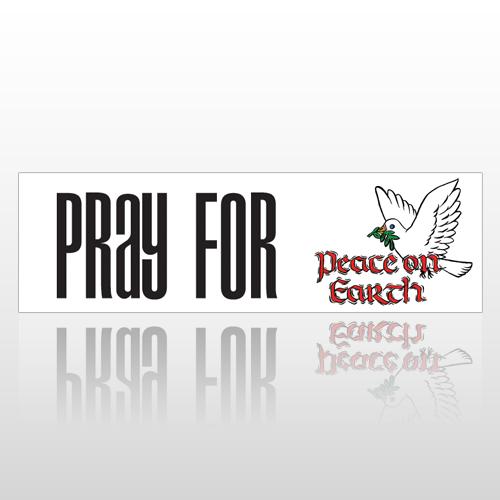 Peace Earth 214 Bumper Sticker
