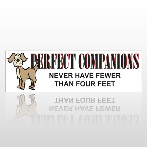 Perfect Dog 195 Bumper Sticker