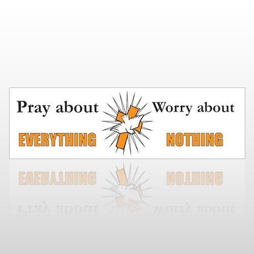 Pray Dove 202 Bumper Sticker