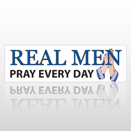 Pray Every Day 205 Bumper Sticker