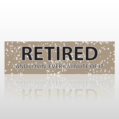 Retired Stars 43 Bumper Sticker