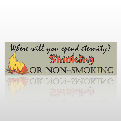 Smoking 215 Bumper Sticker