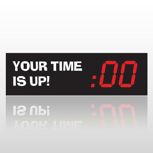 Time Up 59 Bumper Sticker