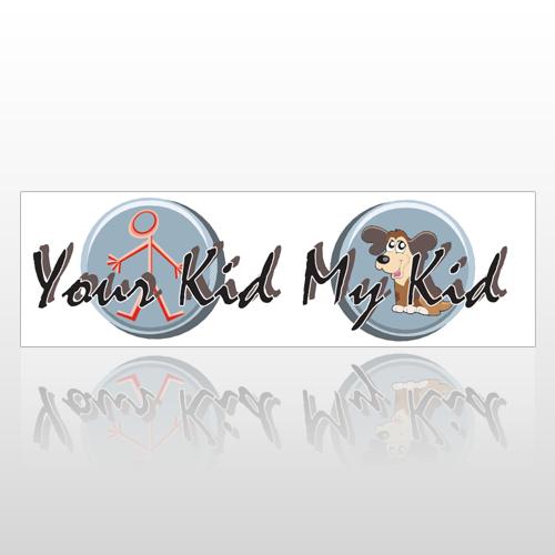 Your Kid 200 Bumper Sticker