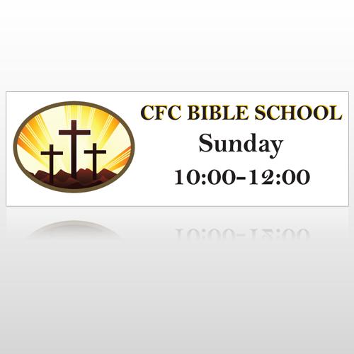 3 Crosses  149 Sign