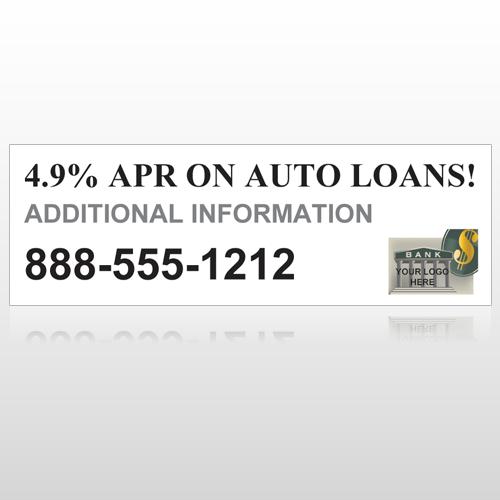 Auto Loan 155 Custom Decal